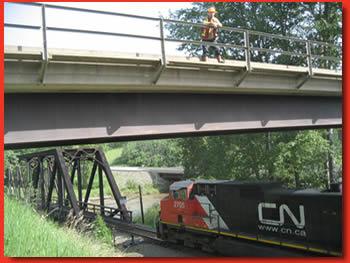 Train Bridge Inspection